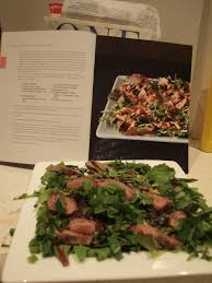 our first attempt nigella express anglo asian lamb salad p 7