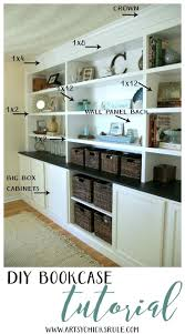 Woodworking Plans Wall Bookcase by Best 25 Built In Shelves Ideas On Pinterest Built In Cabinets