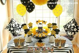 graduation decorations black white and gold graduation party