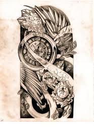 half sleeve designs drawings sketch by willemxsm on
