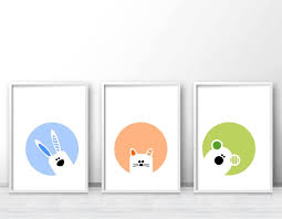 Best Nursery And Kids Wall Art Printsposters Images On - Kid room wall art