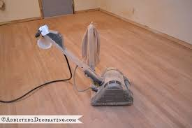 the correct way to sand hardwood floors