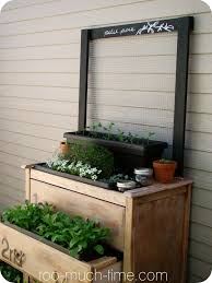 Garden Wall Planter by Take An Old Dresser And Convert It To A Potting Bench Hang