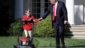 Lawn Mower Meme - these memes of frank the lawn mower kid ignoring trump will make