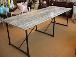 Slab Dining Table by Marble Slab Dining Table Mecox Gardens