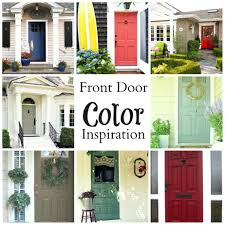 appealing brick house front door color pictures best inspiration