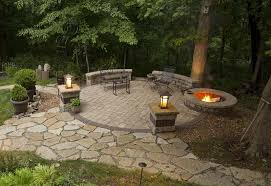 Fire Pits And Fire Features Outdoor Fire Pit Seating Design Ideas - Backyard firepit designs