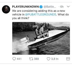 pubg hacks reddit jet ski in pubg confirmed pubattlegrounds