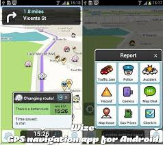 waze android waze community driven traffic and gps navigation app for android