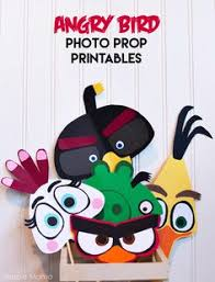 craft interrupted angry birds party favors red bird treat bags