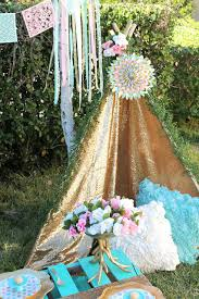 Backyard Sweet 16 Party Ideas Boho Themed Sweet 16 Party Laura U0027s Little Party