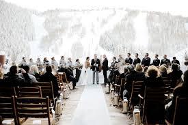mountain wedding antler filled mountain wedding at stein eriksen lodge in