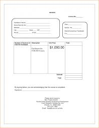 rental property invoice template advance payment format example
