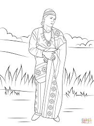 free printable native american coloring pages amazing free native