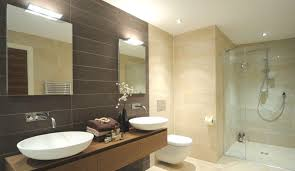 Modern Bathroom Tiles 2014 Spacious Bathroom Design Ideas With Glass Shower Enclosure And