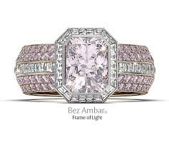 Pink Diamond Wedding Rings by Frame Of Fire Wedding Ring Set Pink Diamond