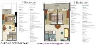 azure floor plan 4th tower positano azure urban resort residences