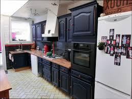 cuisine repeinte en noir meuble de cuisine repeint stunning meuble de cuisine en bois