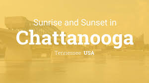 Tennessee Time Zone Map Sunrise And Sunset Times In Chattanooga