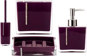 accessories appealing purple bathroom accessories next plum