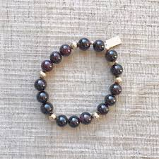 garnet bracelet images Garnet bracelet security abundance love moonlight sage jpg