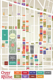 Map Of Cincinnati Otr Gateway Quarter Wayfinding Map Otr Matters