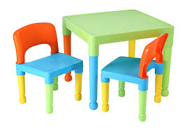 childrens plastic table and chairs liberty house toys children s table and 2 chairs set plastic multi