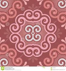 seamless tile pattern in marsala colors stock vector image 53606669