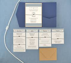 wedding invitations the knot nautical tie the knot pocket invitation cards pockets design