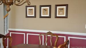 Dining Room Molding Ideas Stunning Framed Art For Dining Room Contemporary Home Design