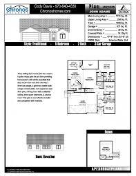 floor plans chronos builders
