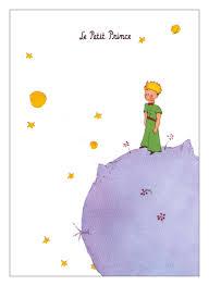 le petit prince petit prince planet poster
