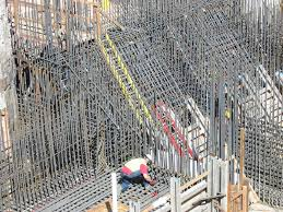 Rebar Worker Reinforced Concrete Wikipedia The Free Encyclopedia Rebar Is
