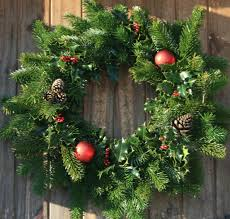 decoration decorate a natural christmas wreath for 6 loversiq