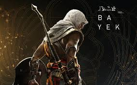 spirit halloween assassin s creed 4k bayek fighting with shield assassins creed origins 3840x2160