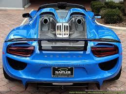 porsche voodoo blue 2015 porsche 918 spyder 918 spyder