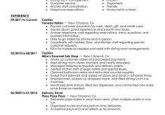 Cashier Resume Samples by Download Cashier Resume Sample Haadyaooverbayresort Com