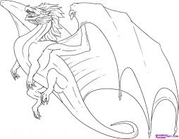 how to draw a dragon pencil art drawing