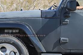 2018 jeep wrangler jl 2 door spied zf 8 speed auto and other spied 2018 jeep wrangler prototype caught with live axle setup