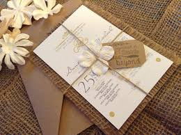 Affordable Wedding Invitations With Response Cards Hand Made Country Chic Burlap Wedding Invitation Set 100 00 Via