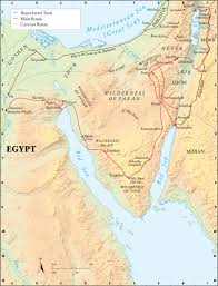Map Of Canaan From Egypt To The Promised Land U2014 Watchtower Online Library