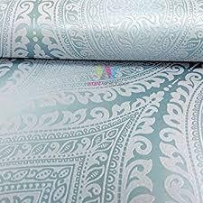 grandeco kismet damask pattern wallpaper metallic glitter motif