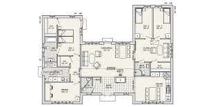 u shaped house floor plans gnscl