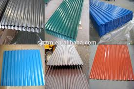 sheet types cheap price types prepainted color galvanized metal steel roofing