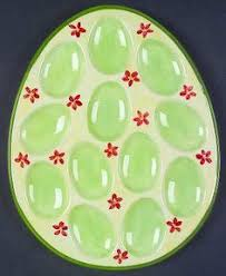 ceramic deviled egg plate ceramic deviled egg owl plate owl egg serving platter ready to