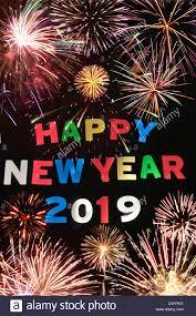 HAPPY NEW YEAR 2019 Stock Photo 50327397  Alamy