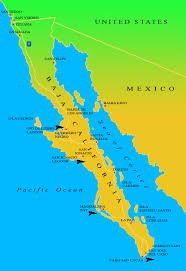 Jalisco Mexico Map Map Of Baja Peninsula Mexico You Can See A Map Of Many Places On