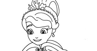 sofia coloring pages winters gift sofia