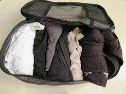 alternate uses for packing cubes u2013 organize your closet space