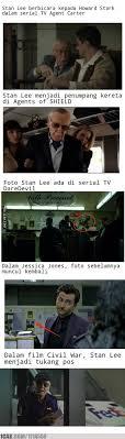 film marvel akan datang kemunculan stan lee sebagai cameo 6 selebihnya tunggu film marvel